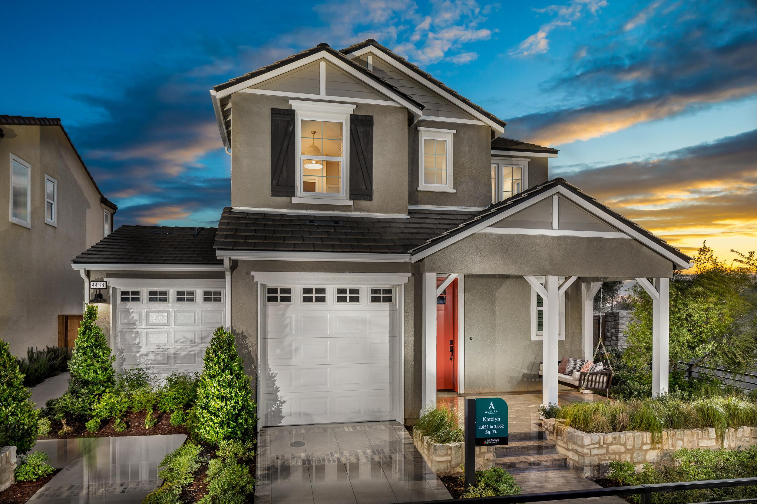 Exterior featured in the Katelyn By McCaffrey Homes in Fresno, CA