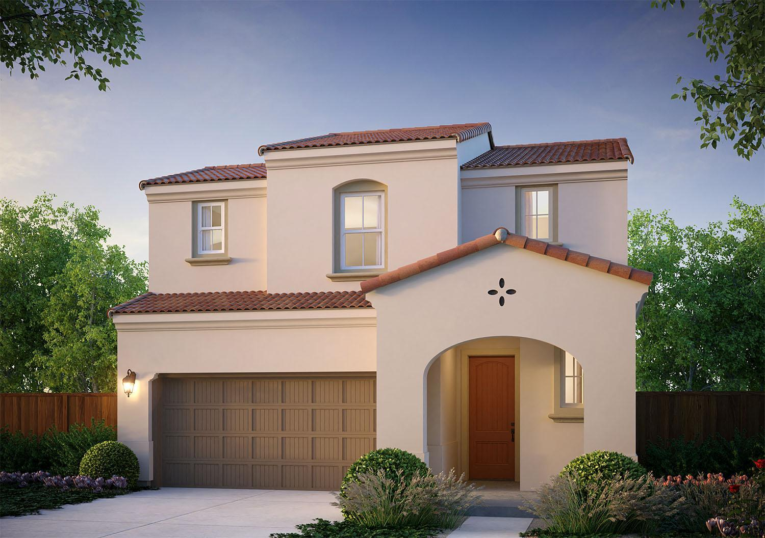 Exterior featured in the Bryce By McCaffrey Homes in Fresno, CA