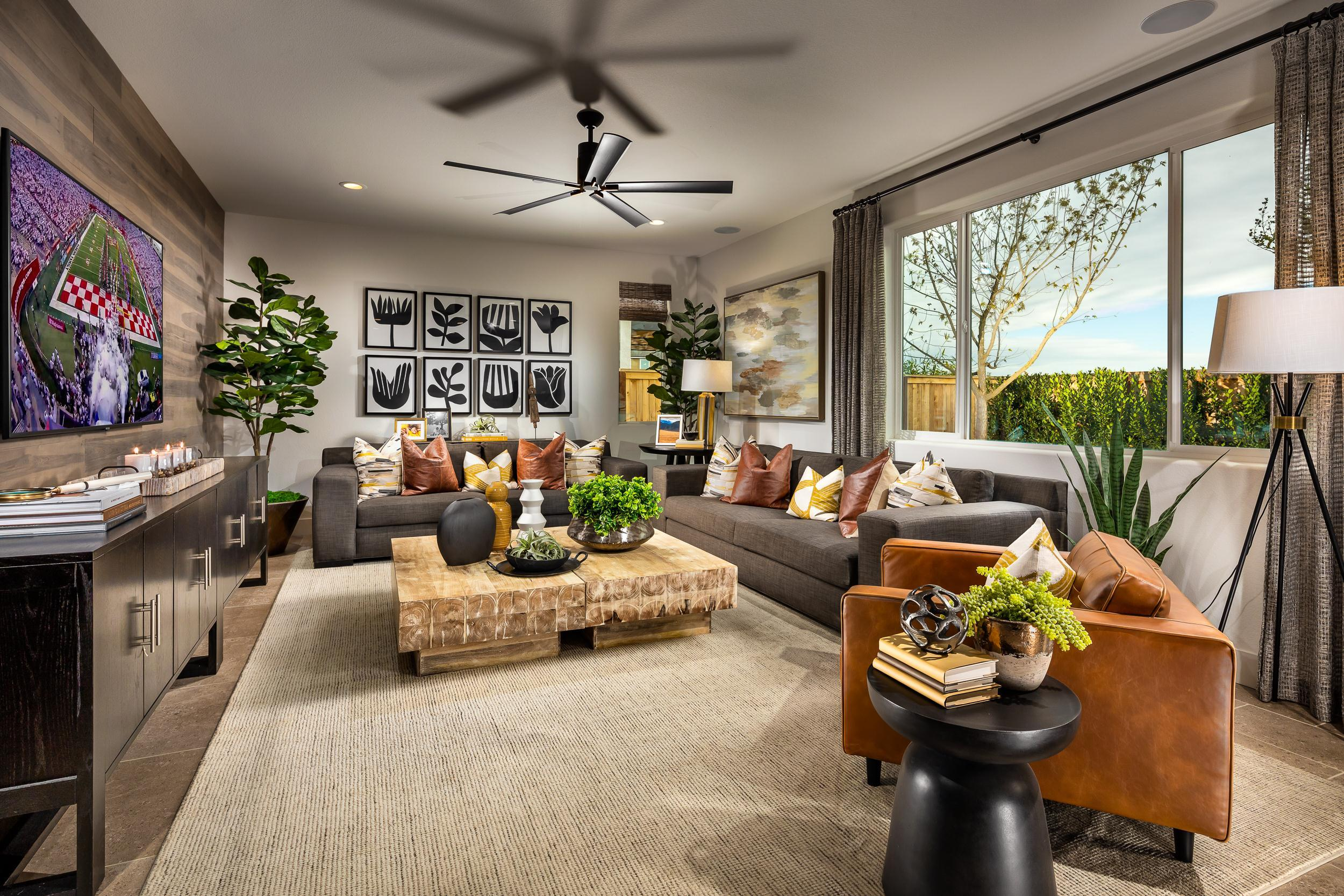 Living Area featured in the Laina By McCaffrey Homes in Fresno, CA