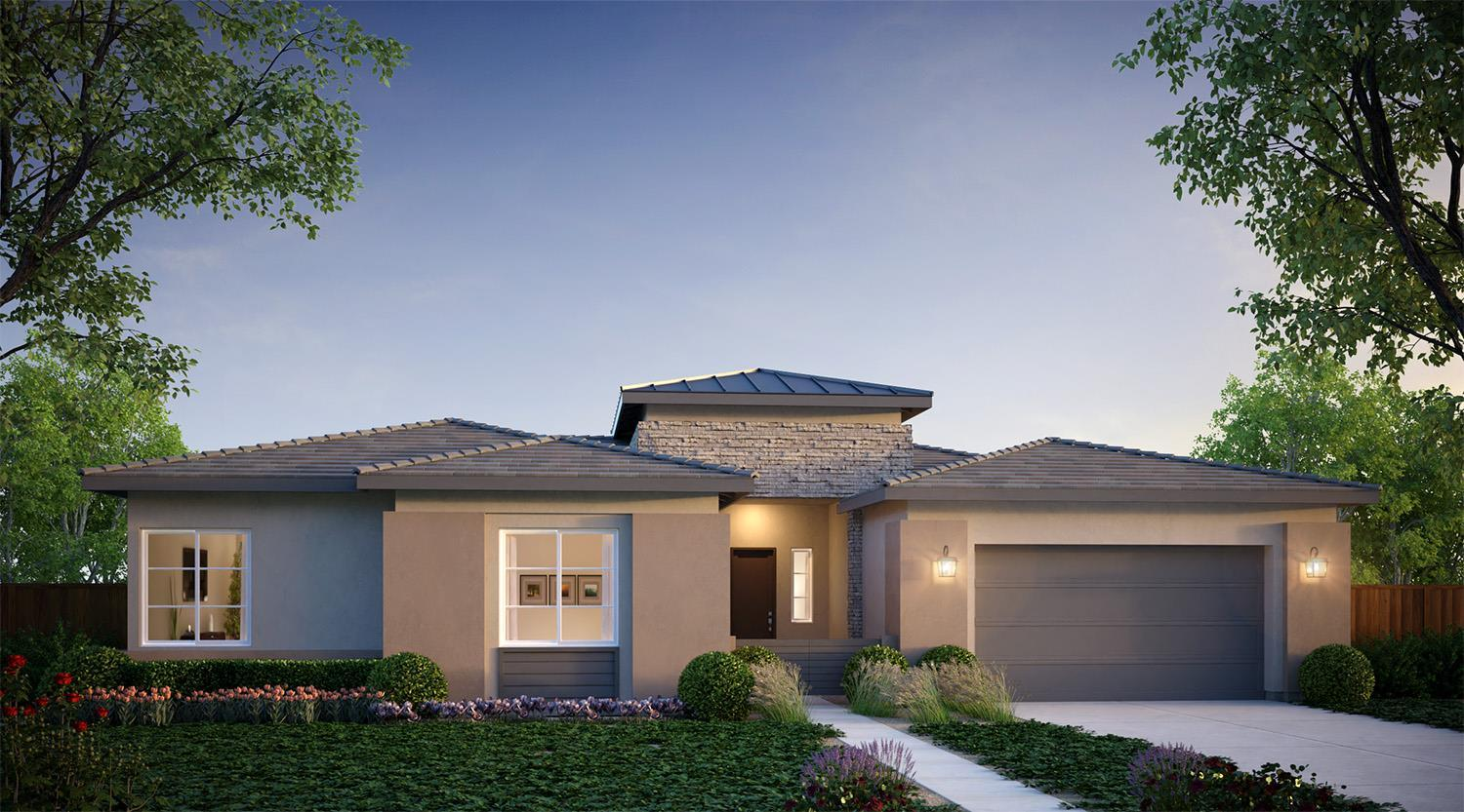 Exterior featured in the Blue Oak By McCaffrey Homes in Fresno, CA