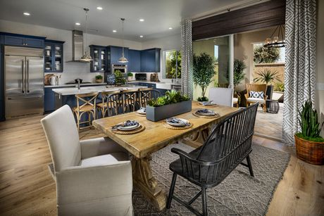 Greatroom-and-Dining-in-Residence Three-at-Ivy at Riverstone-in-Madera
