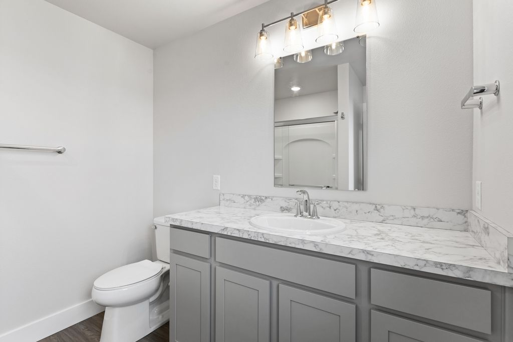 Bathroom featured in the Bighorn By McCall Homes in Billings, MT