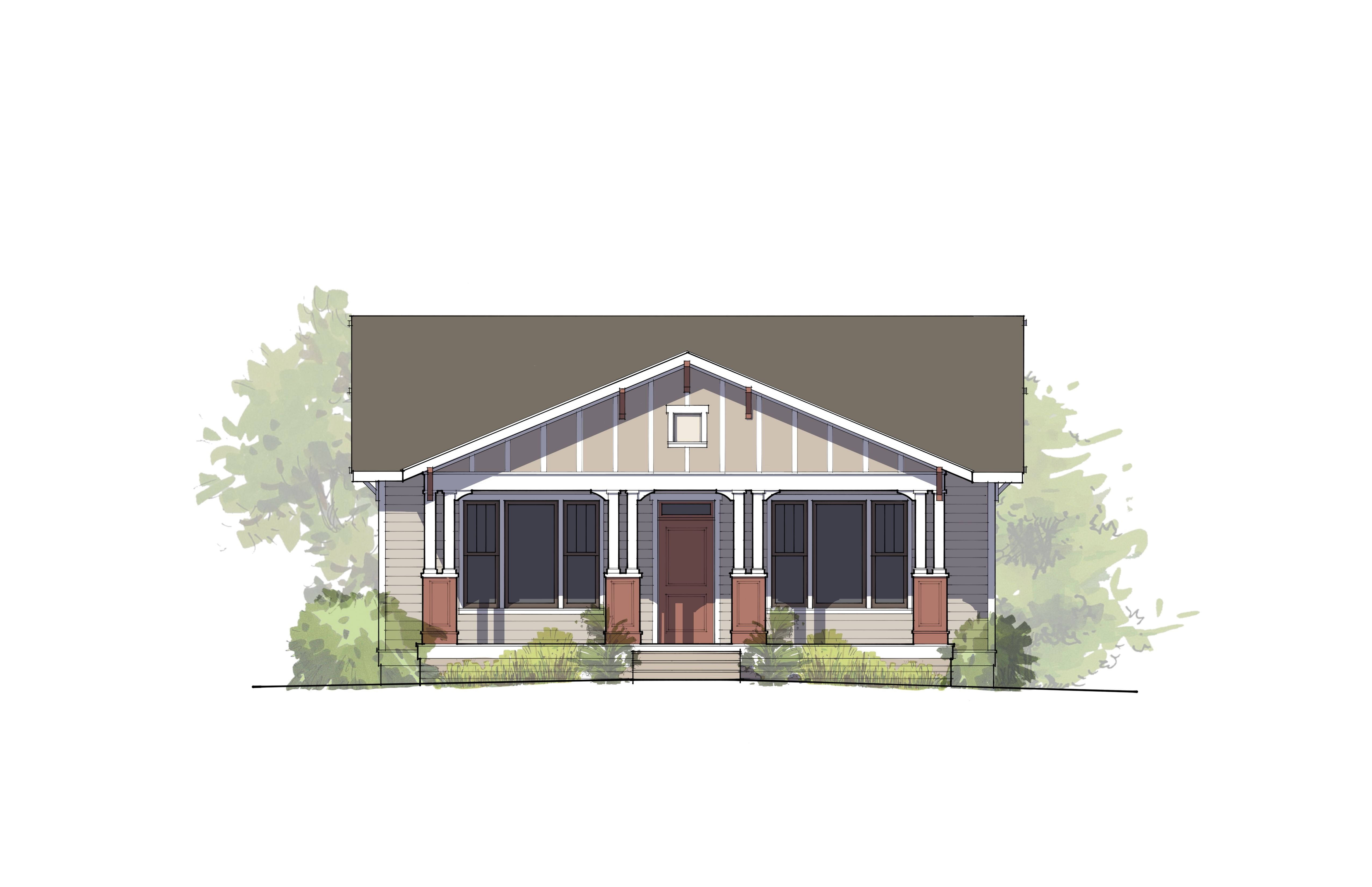 Exterior featured in the Norris By McCall Homes in Billings, MT