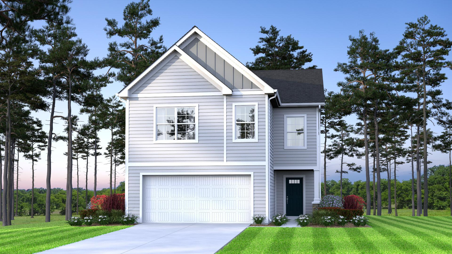 Exterior featured in the Cypress By McGuinn Hybrid Homes in Columbia, SC