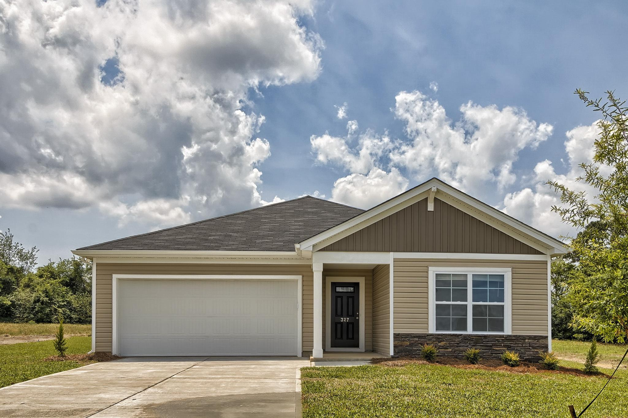 Exterior featured in the Magnolia By McGuinn Hybrid Homes in Columbia, SC