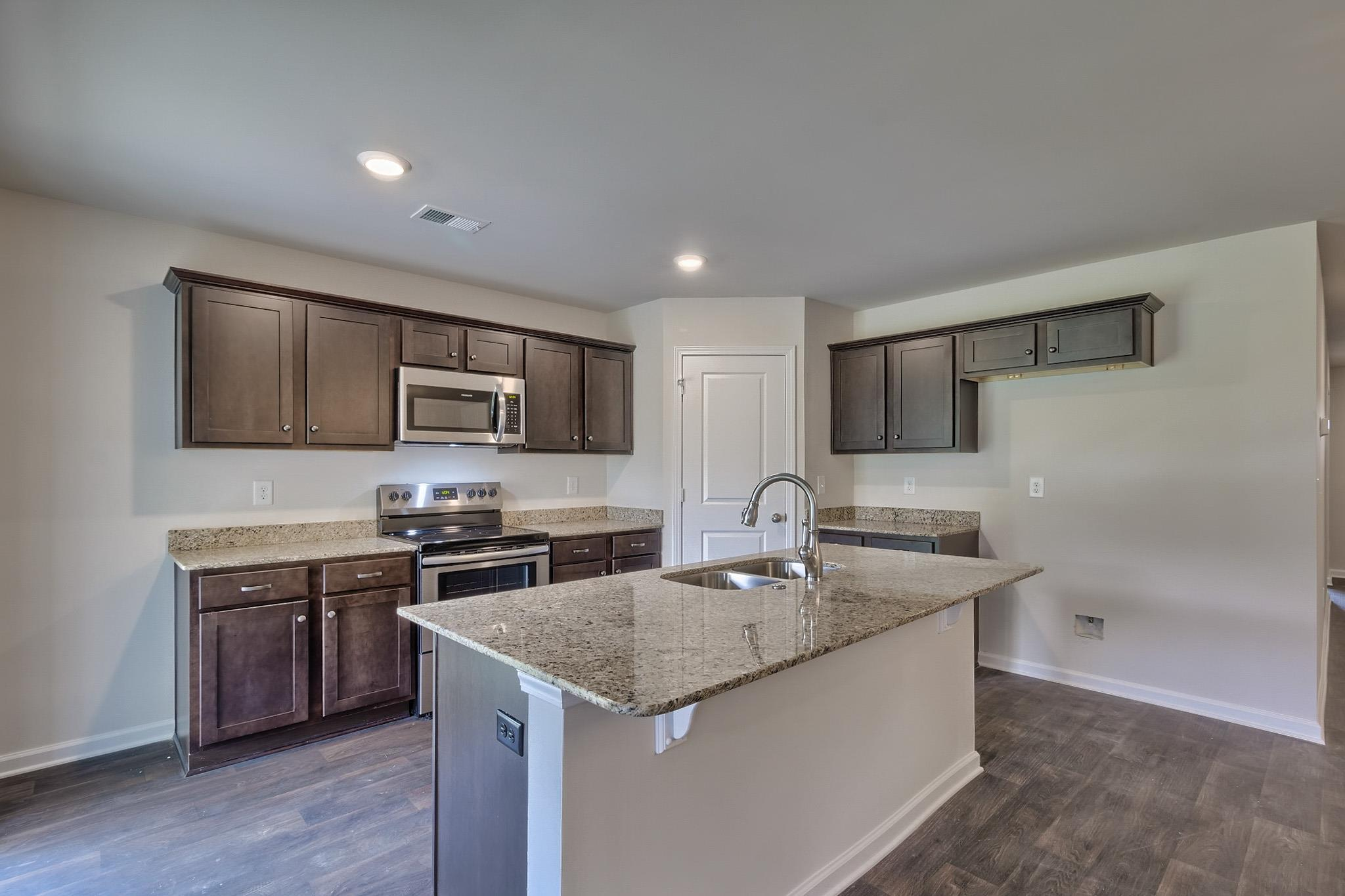 Kitchen featured in the Magnolia By McGuinn Hybrid Homes in Columbia, SC