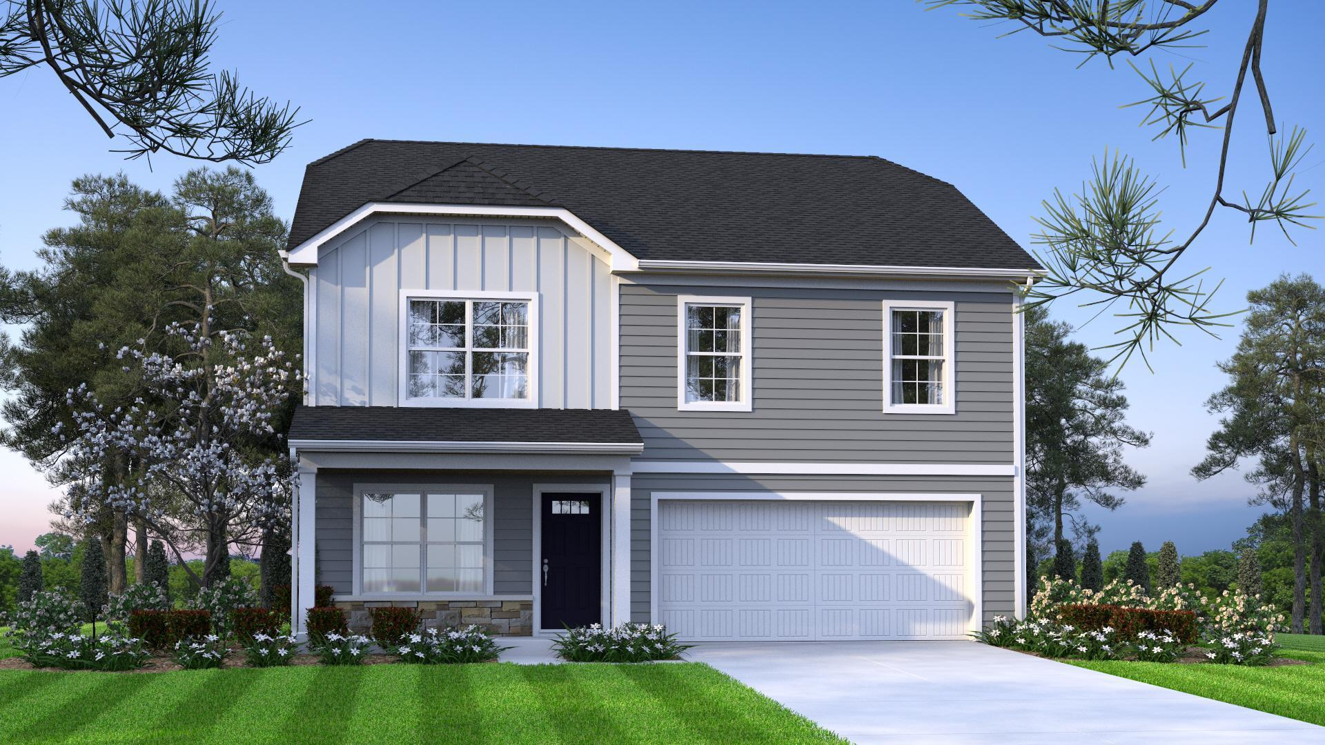 Exterior featured in the Maple B By McGuinn Hybrid Homes in Columbia, SC