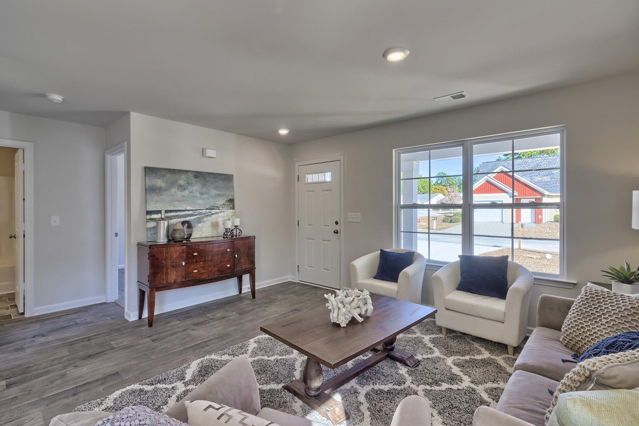 Living Area featured in the Dogwood By McGuinn Hybrid Homes in Columbia, SC