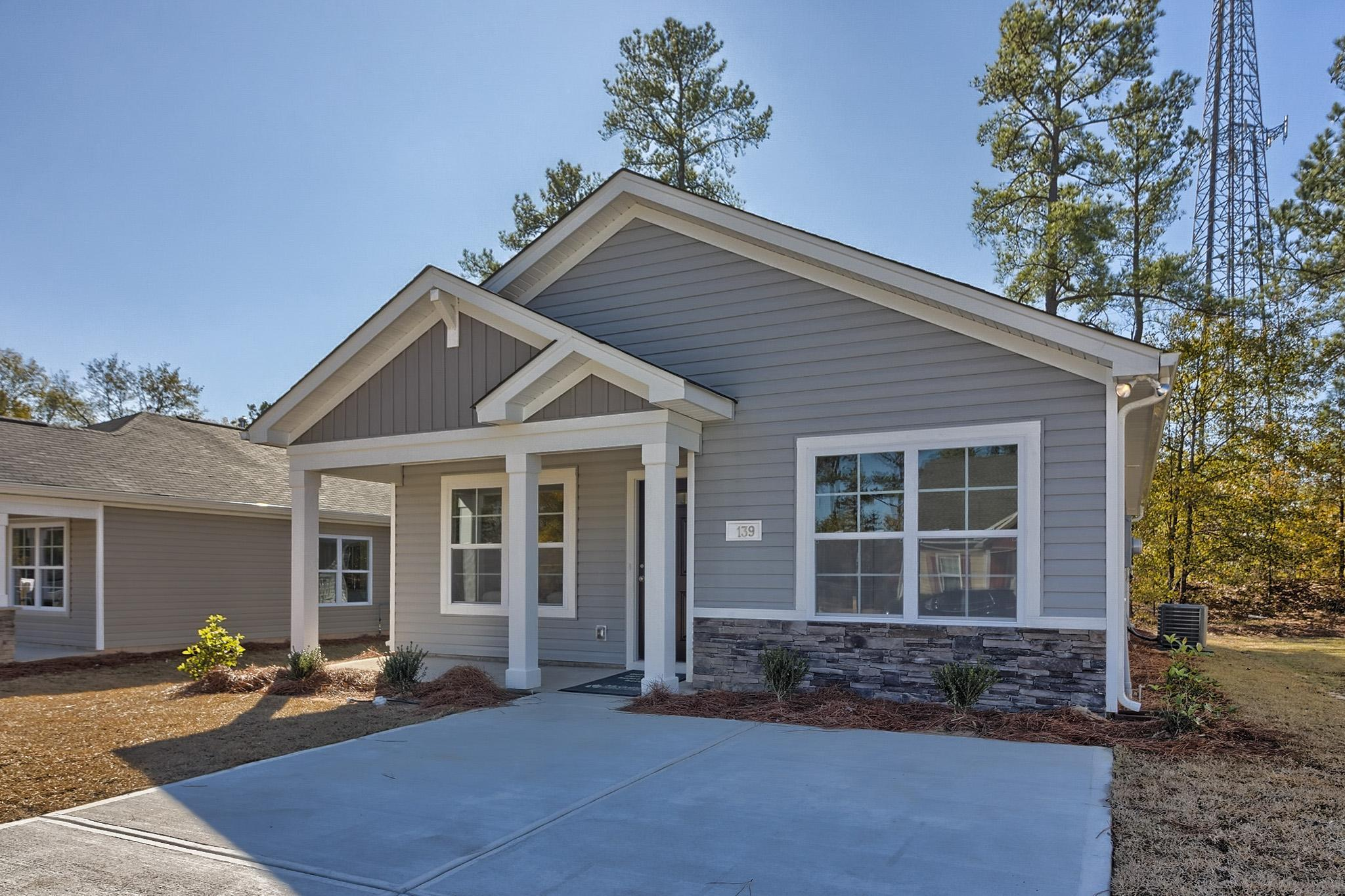 Exterior featured in the Dogwood By McGuinn Hybrid Homes in Columbia, SC