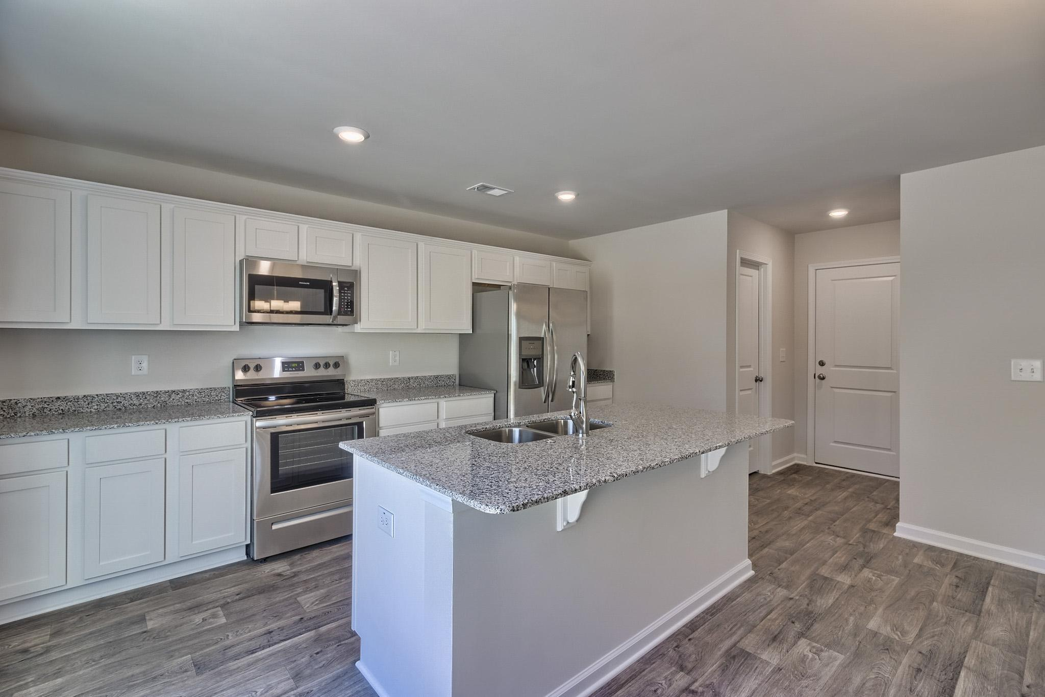 Kitchen featured in the Myrtle By McGuinn Hybrid Homes in Columbia, SC