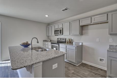 Kitchen-in-Willow-at-Hallman Meadows-in-Leesville