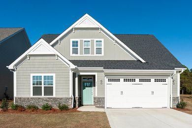 Reynolds Craftsman Legacy Lakes Aberdeen North Carolina Mckee Homes