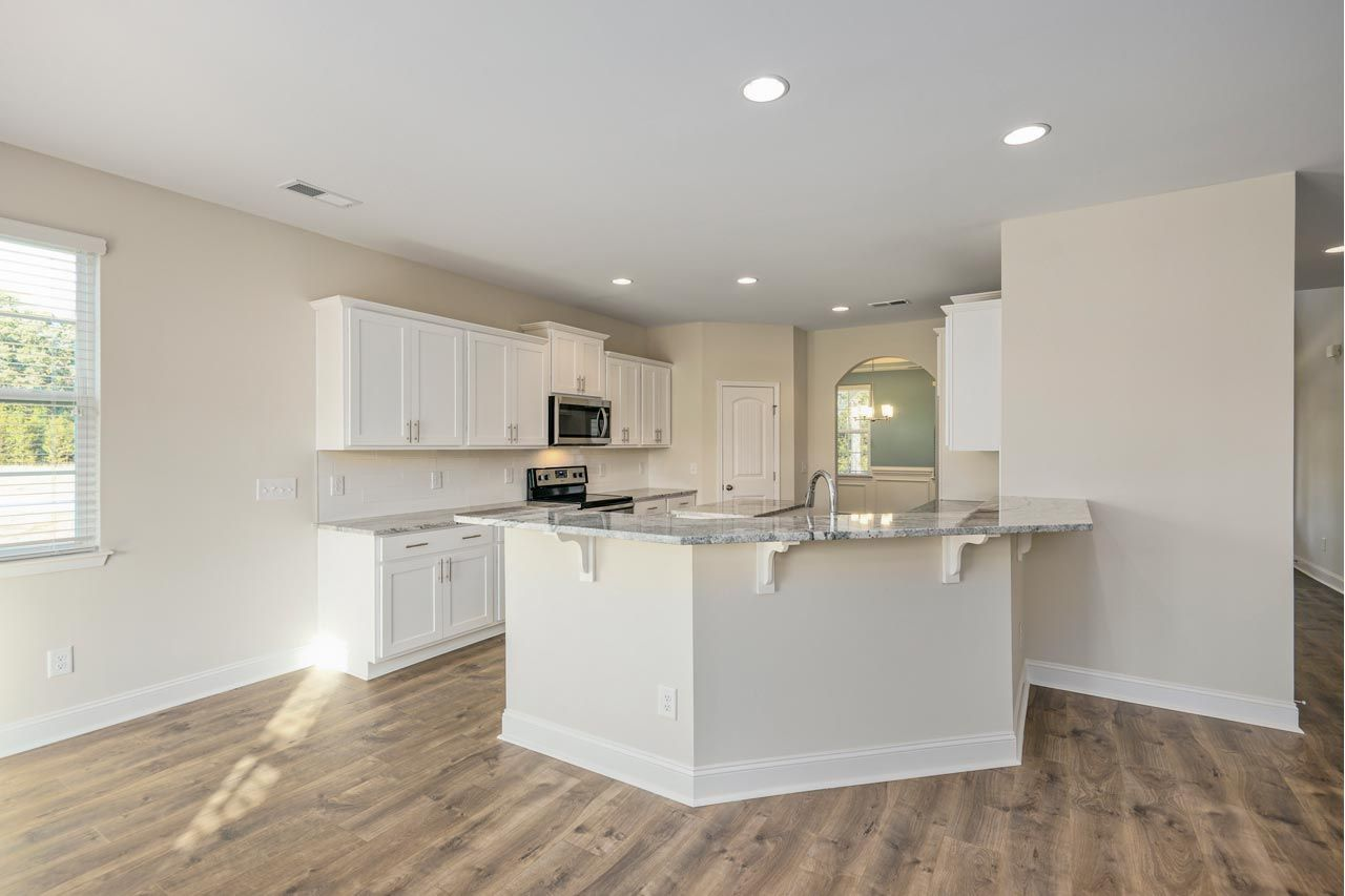 Kitchen-in-Clark European-at-Falls Creek-in-Youngsville
