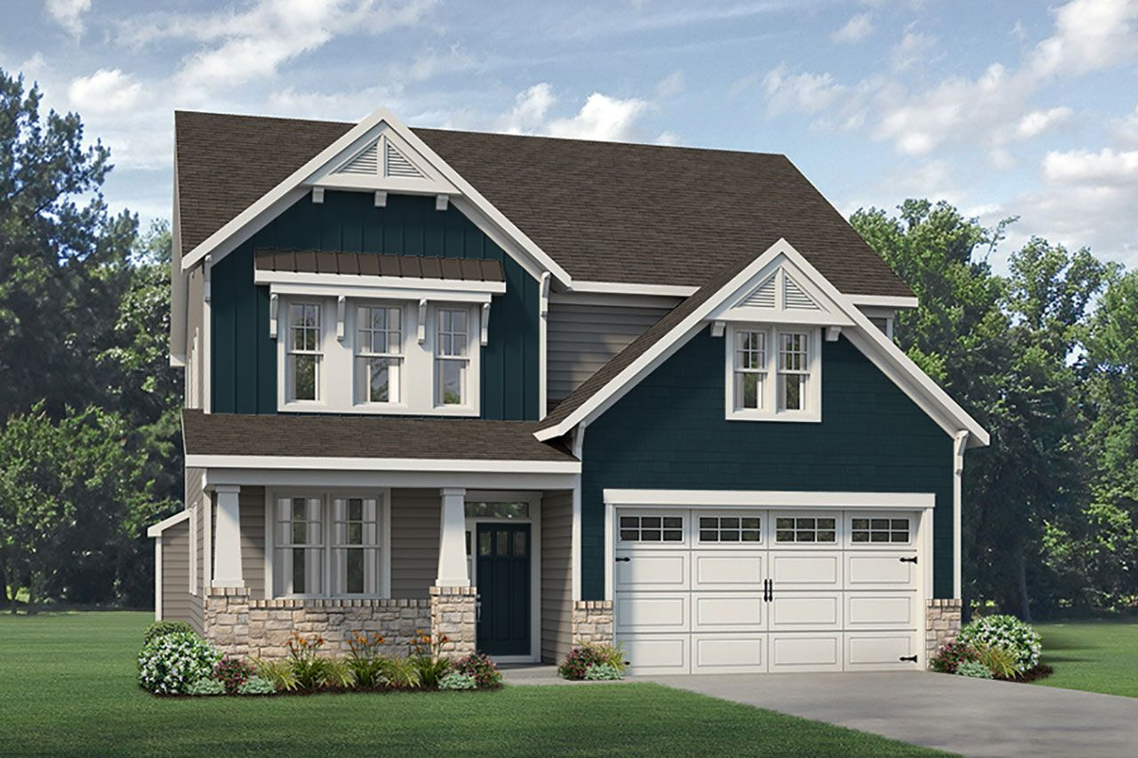 Exterior featured in the Nelson II Craftsman By McKee Homes in Fayetteville, NC