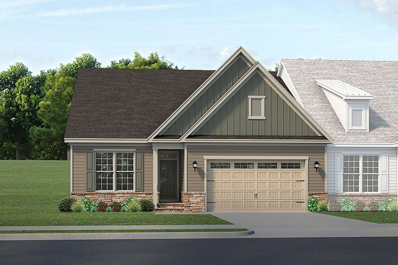 Exterior featured in the Pinehurst By McKee Homes in Pinehurst-Southern Pines, NC