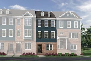 Polk A - Townes At Gateway Commons: Wake Forest, North Carolina - McKee Homes