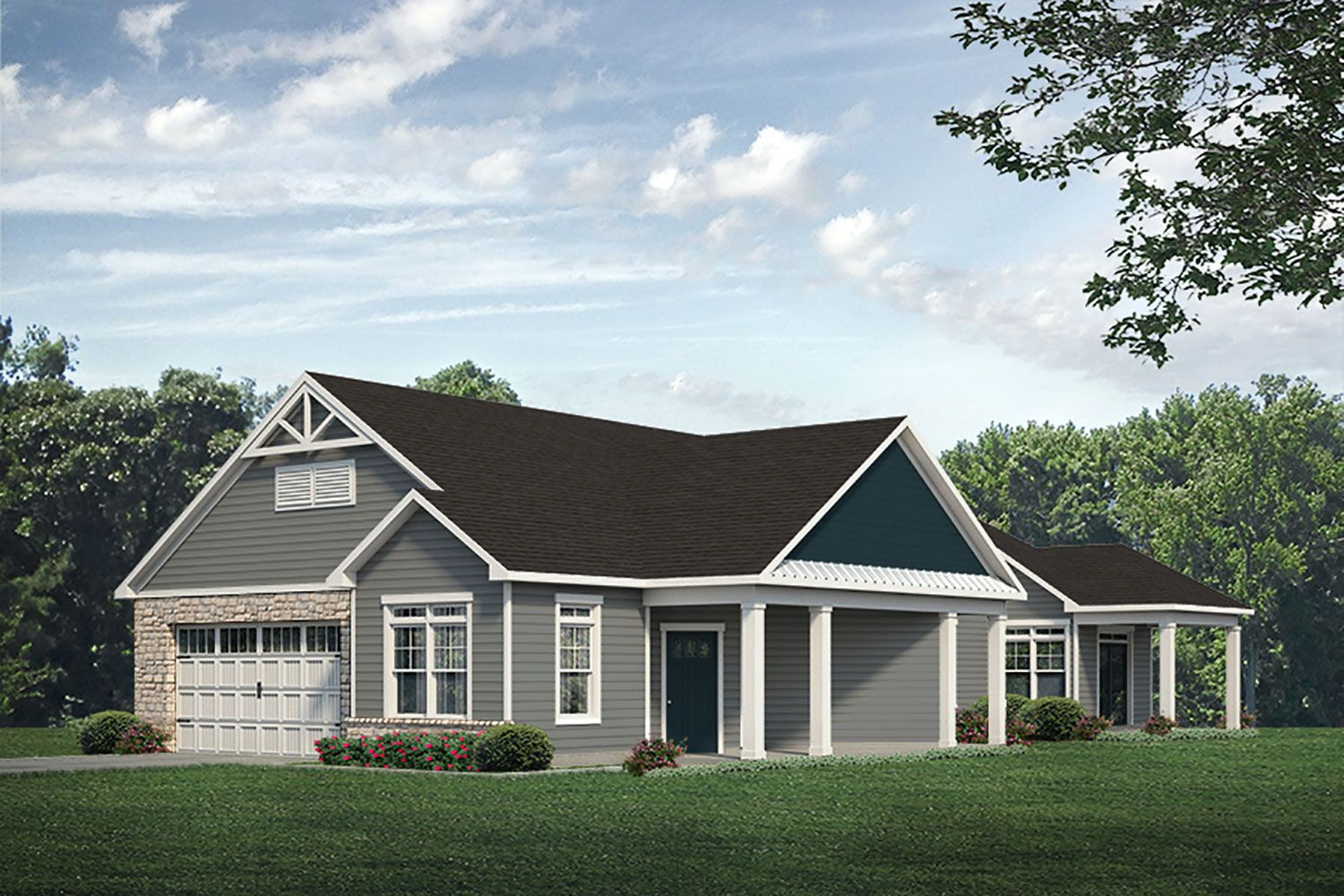 Exterior featured in the Promenade Craftsman By McKee Homes in Wilmington, NC