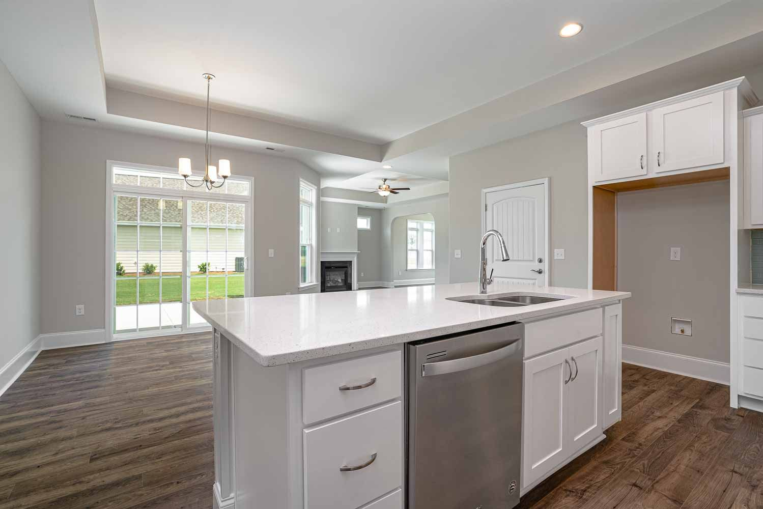 Kitchen featured in the Palazzo Craftsman By McKee Homes in Wilmington, NC