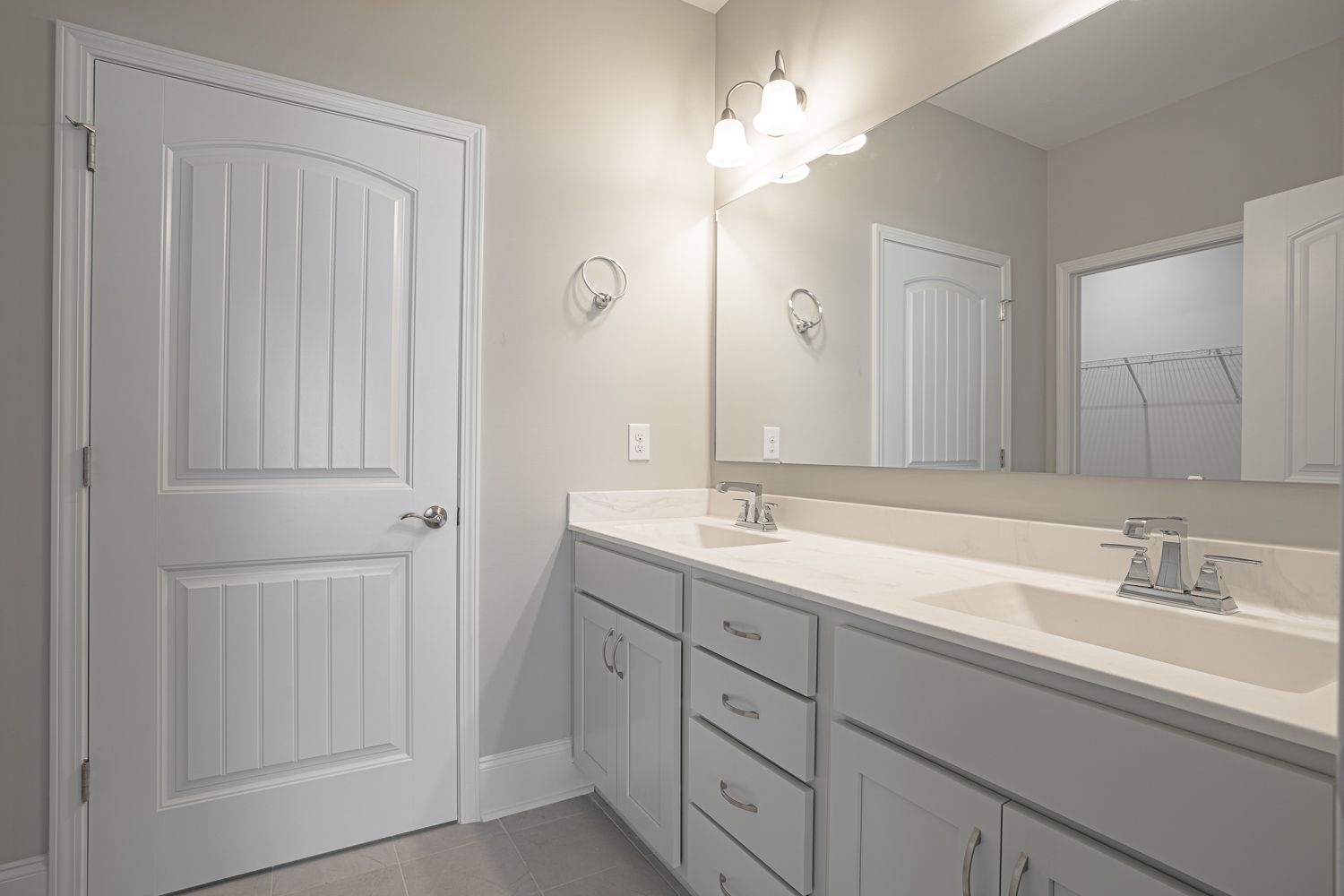 Bathroom featured in the Palazzo Craftsman By McKee Homes in Wilmington, NC