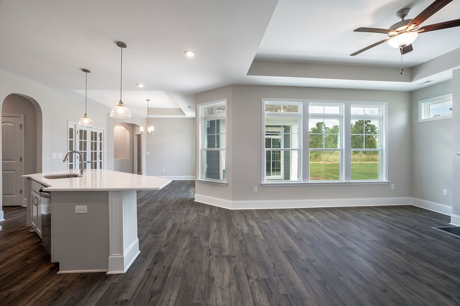 Kitchen featured in the Portico Craftsman By McKee Homes in Wilmington, NC