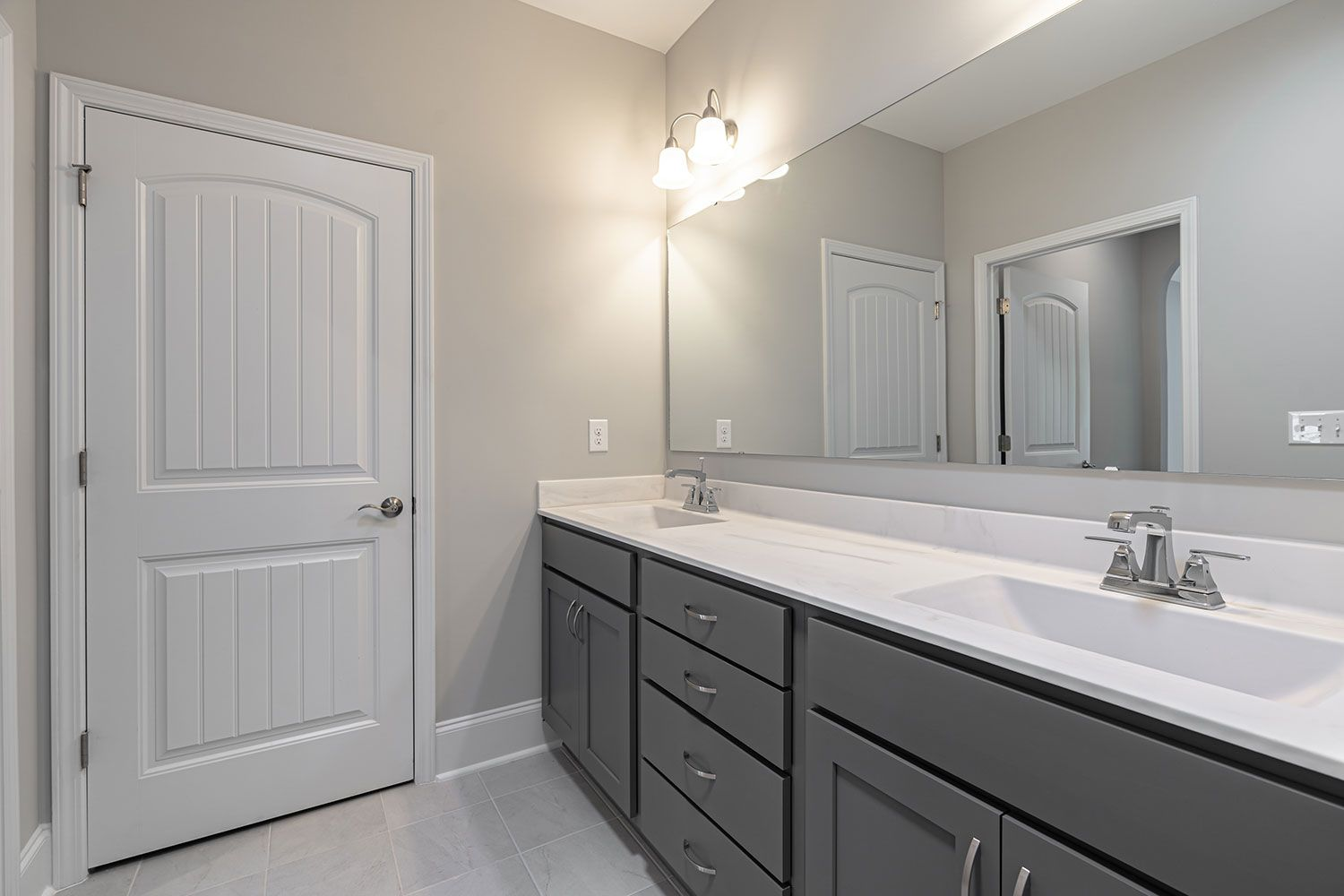 Bathroom featured in the Portico Craftsman By McKee Homes in Wilmington, NC