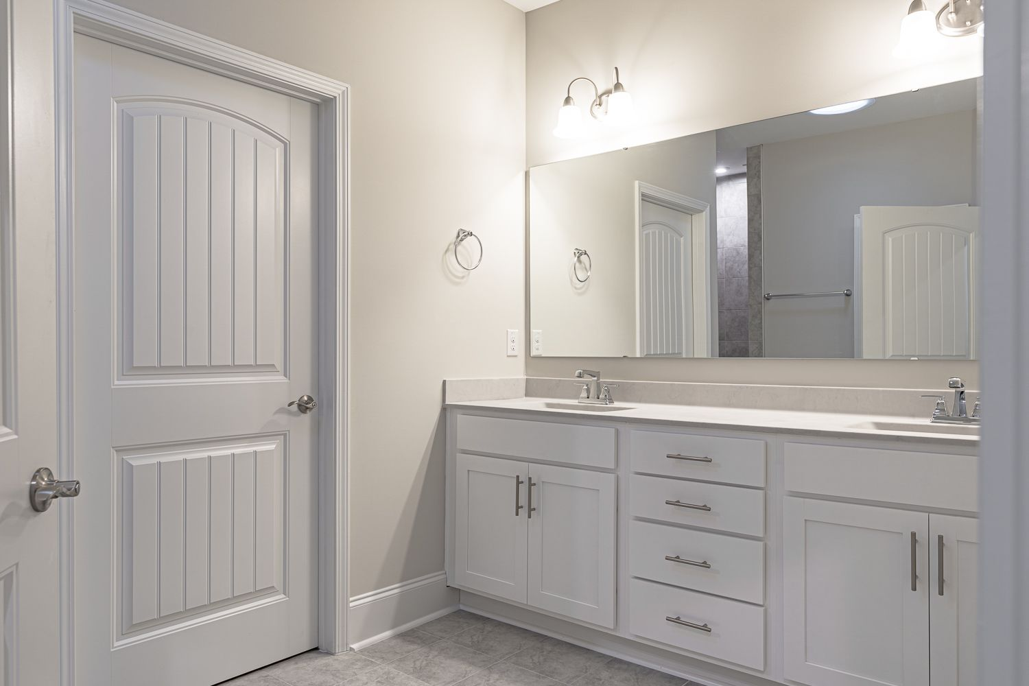Bathroom featured in the Promenade Craftsman By McKee Homes in Wilmington, NC