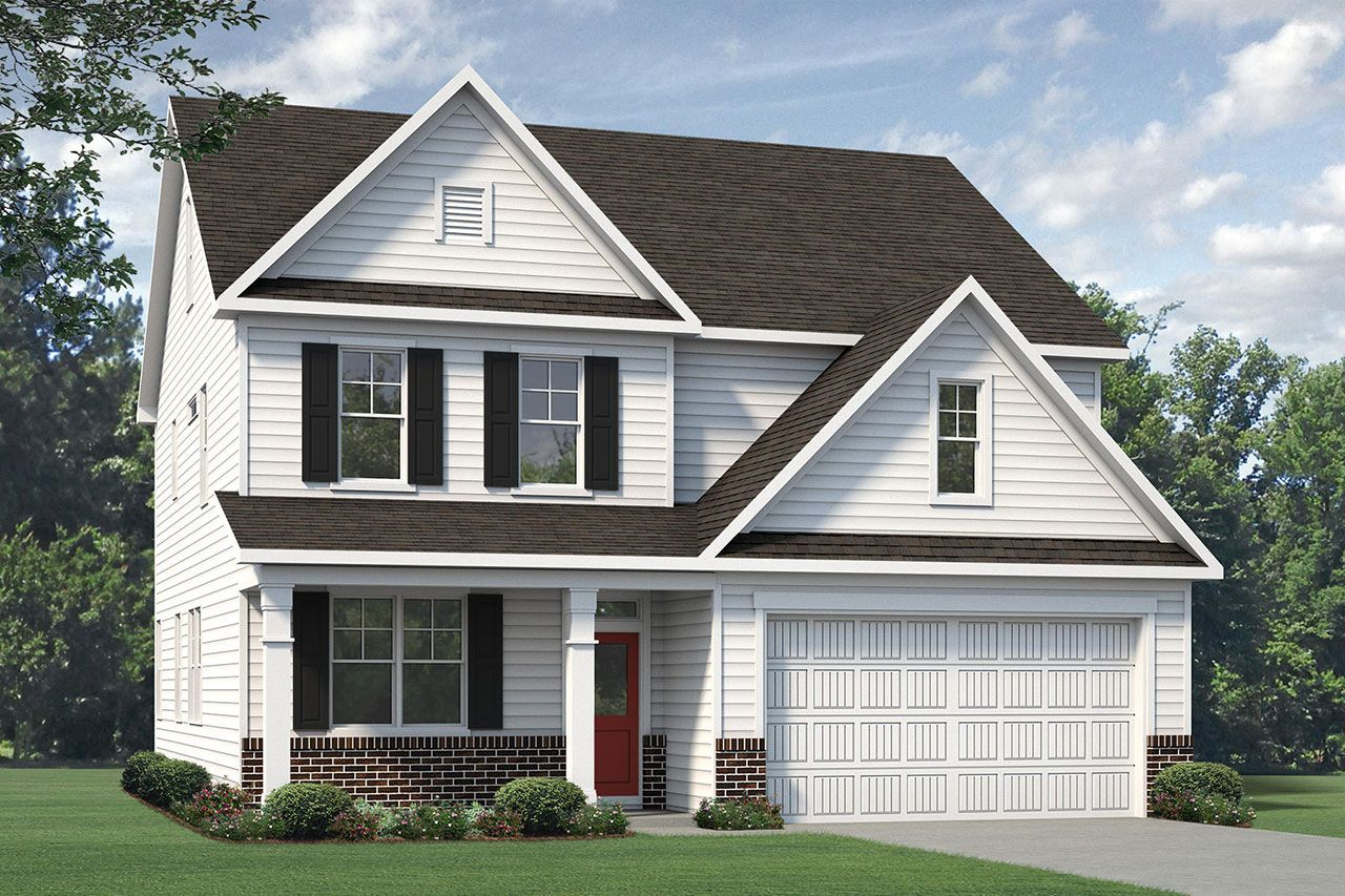 Exterior featured in the Nelson 2020 Classic By McKee Homes in Fayetteville, NC