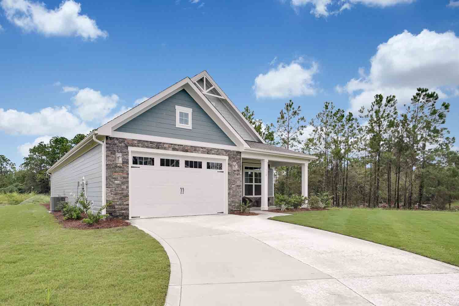Exterior featured in the Salerno Craftsman By McKee Homes in Wilmington, NC