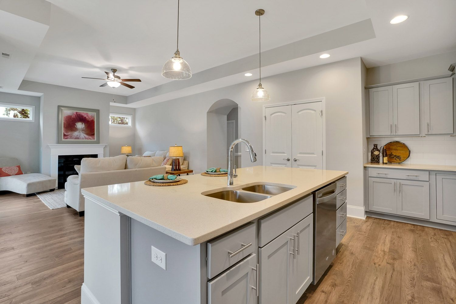 Kitchen featured in the Salerno Craftsman By McKee Homes in Wilmington, NC