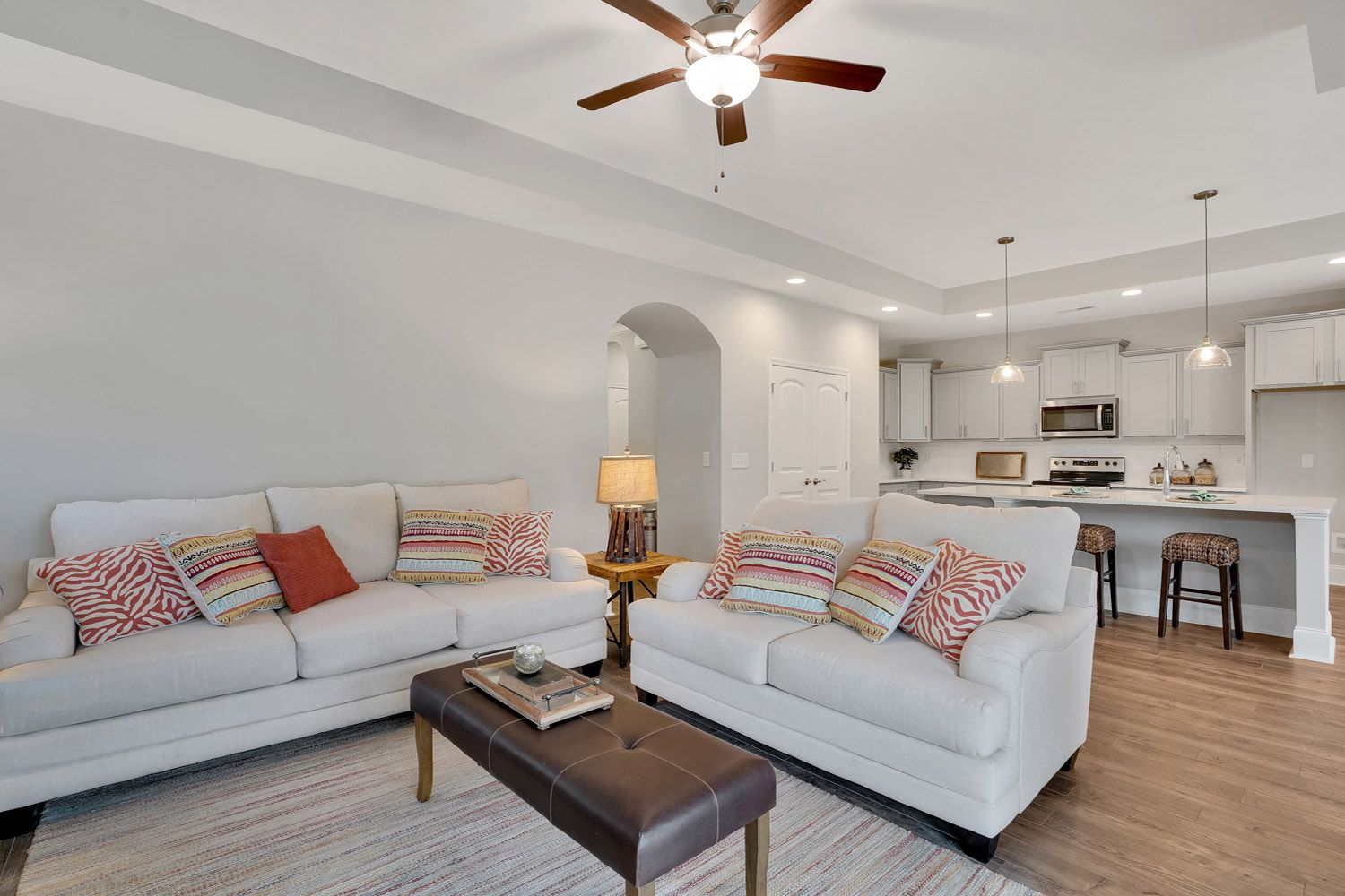 Living Area featured in the Salerno Craftsman By McKee Homes in Wilmington, NC