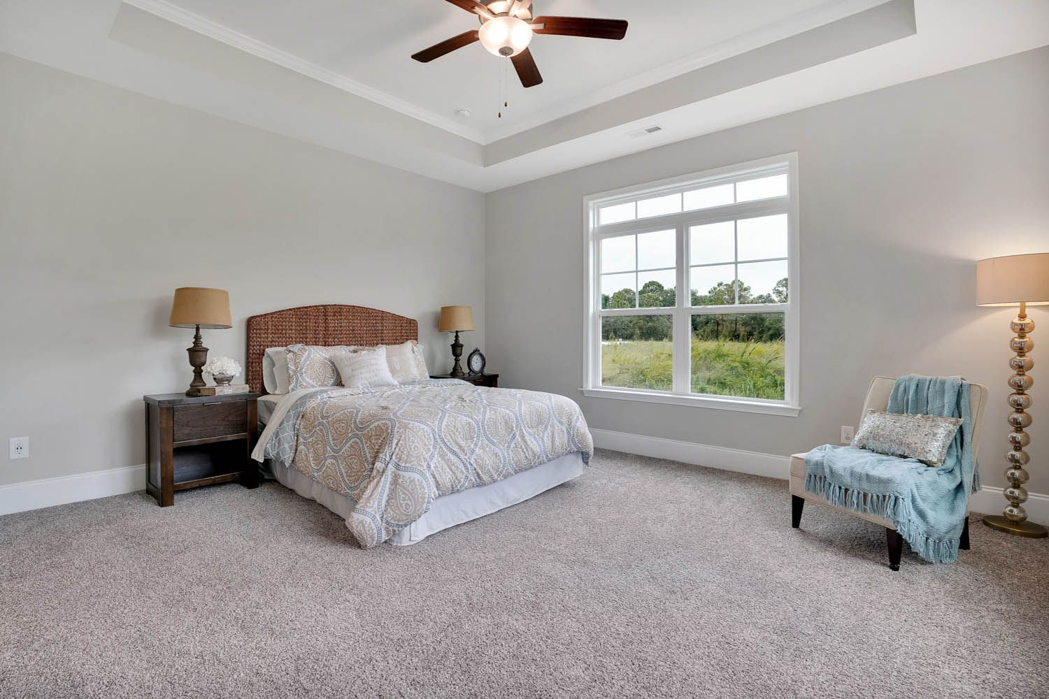 Bedroom featured in the Salerno Craftsman By McKee Homes in Wilmington, NC