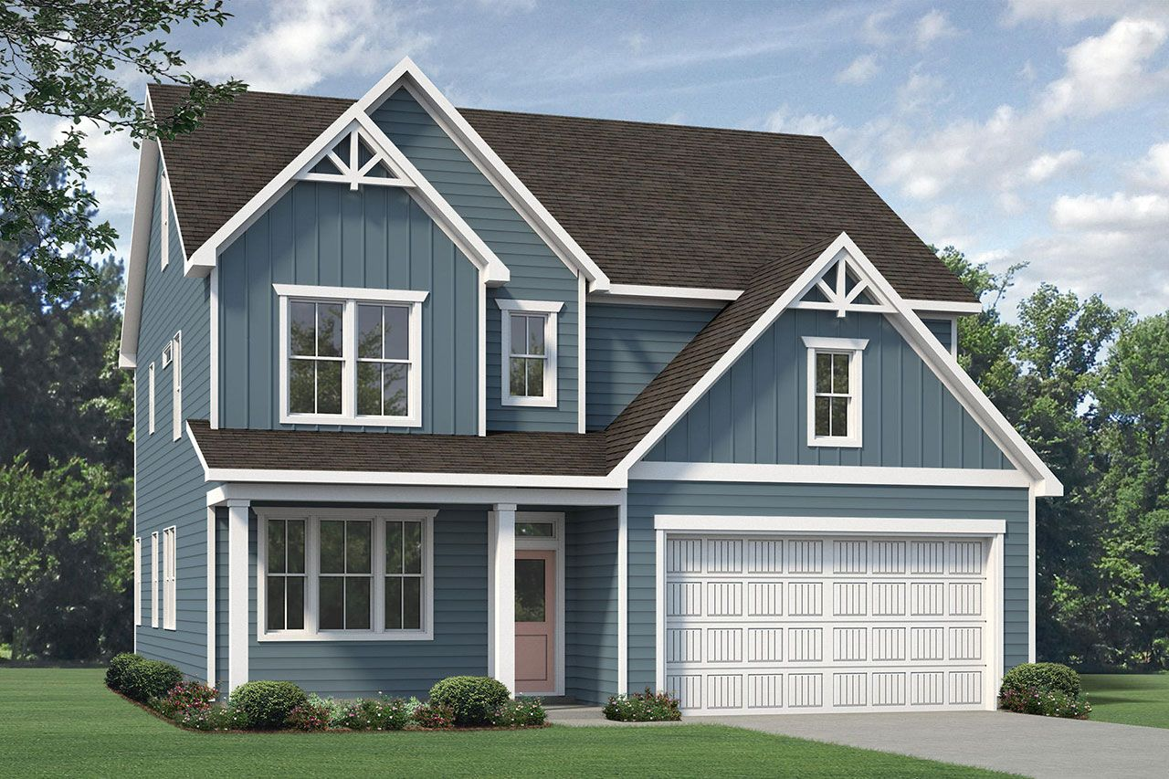 Exterior featured in the Nelson 2020 Coastal By McKee Homes in Wilmington, NC
