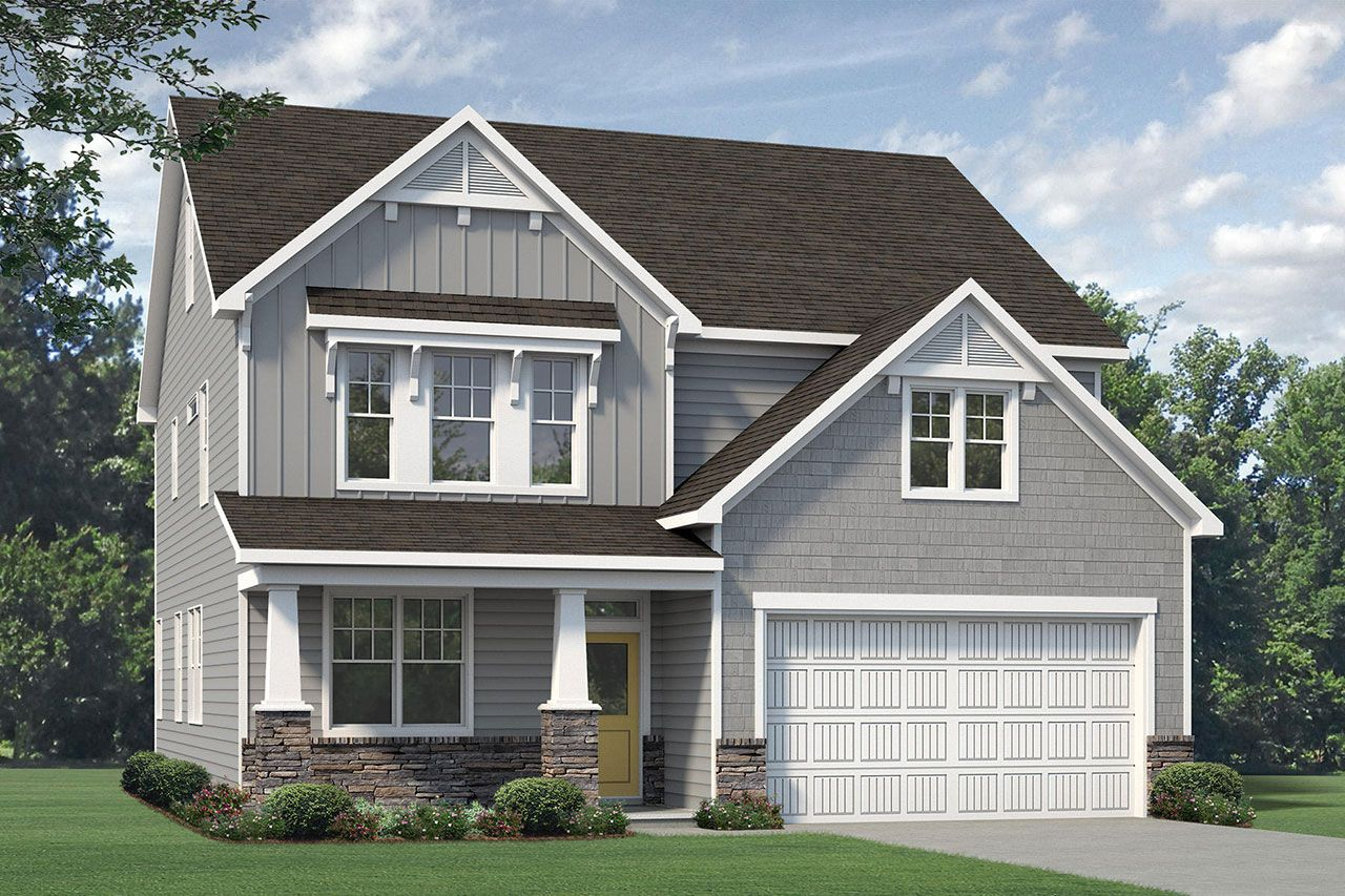 Exterior featured in the Nelson 2020 Craftsman By McKee Homes in Fayetteville, NC