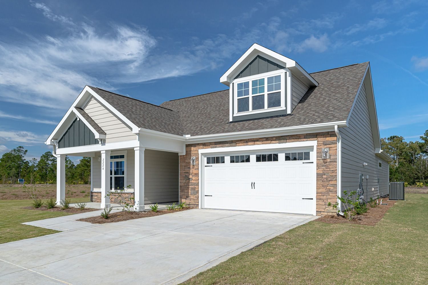Exterior featured in the Portico Bungalow By McKee Homes in Wilmington, NC
