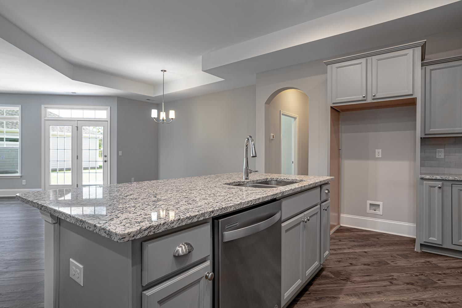 Kitchen featured in the Promenade Bungalow By McKee Homes in Wilmington, NC