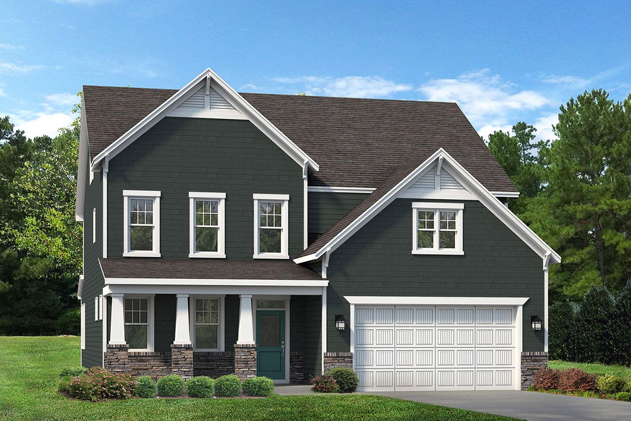 Exterior featured in the Brooks 2020 Craftsman By McKee Homes in Pinehurst-Southern Pines, NC