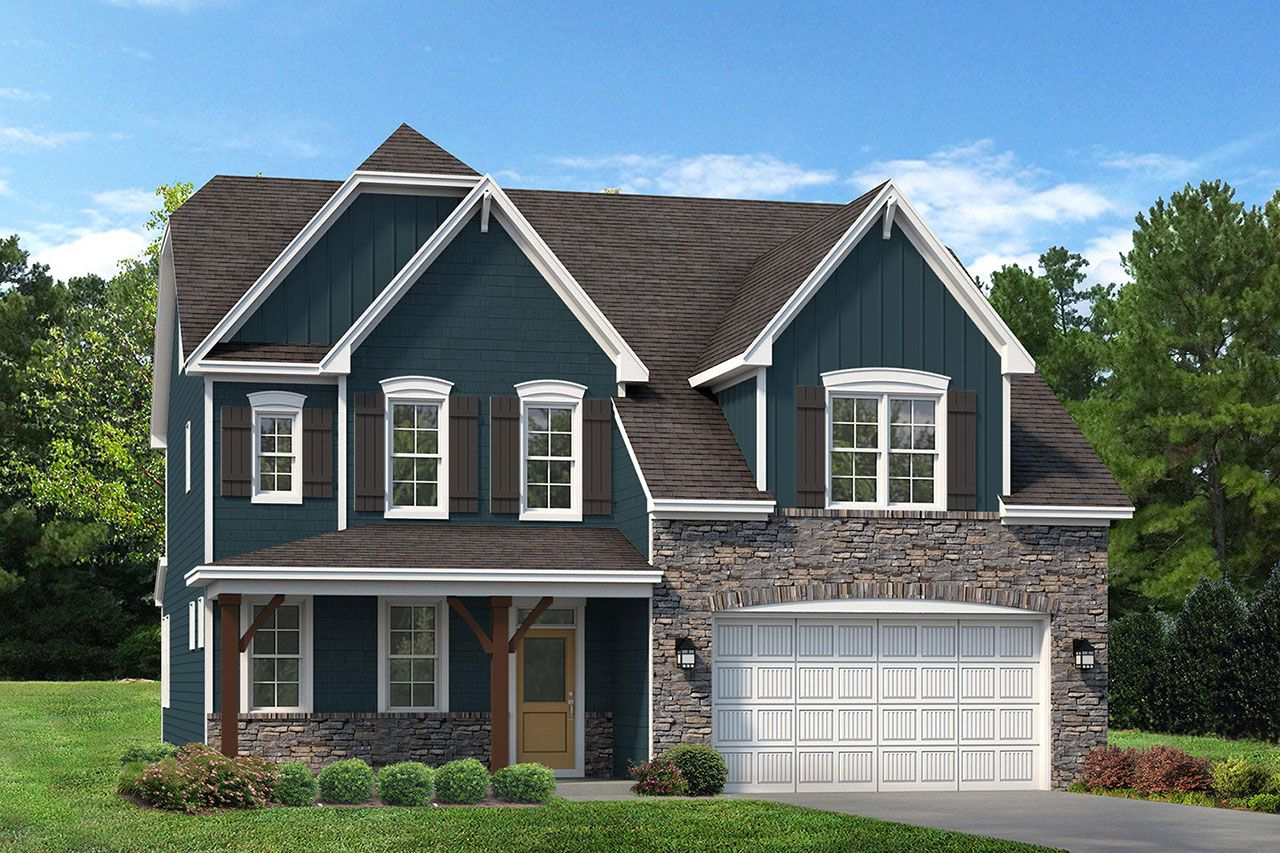 Exterior featured in the Brooks 2020 European By McKee Homes in Pinehurst-Southern Pines, NC