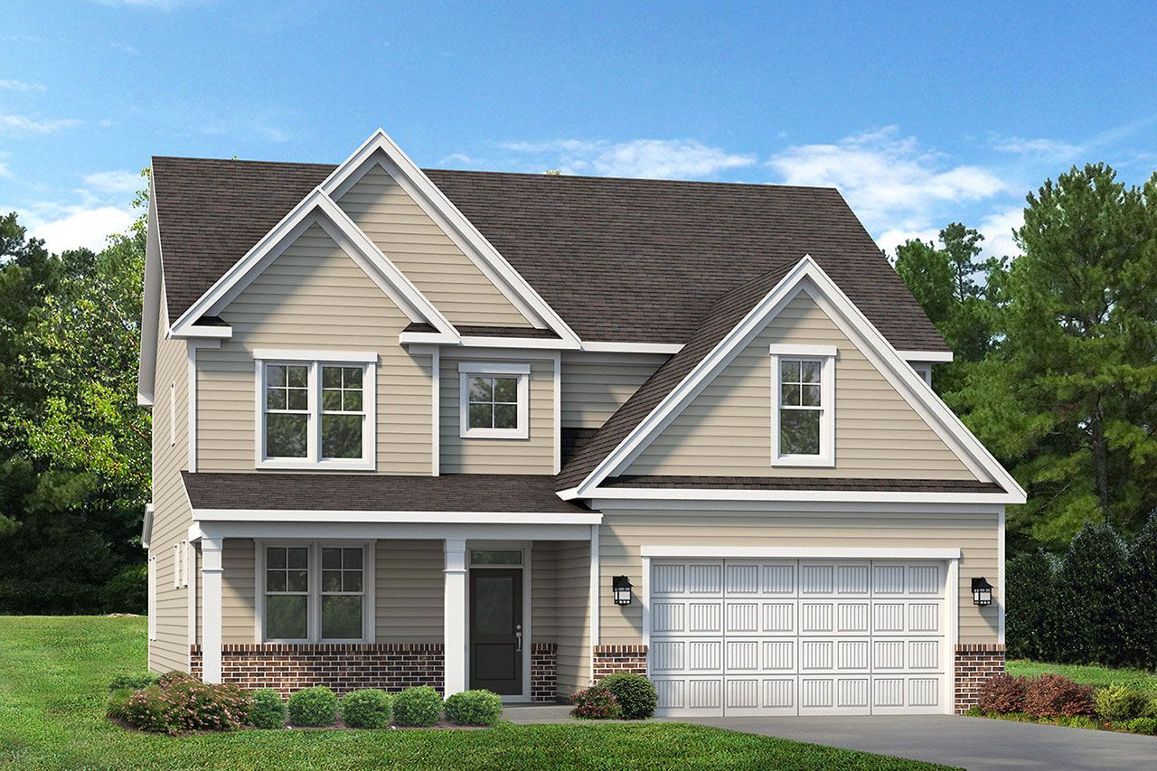Exterior featured in the Brooks 2020 Classic By McKee Homes in Pinehurst-Southern Pines, NC