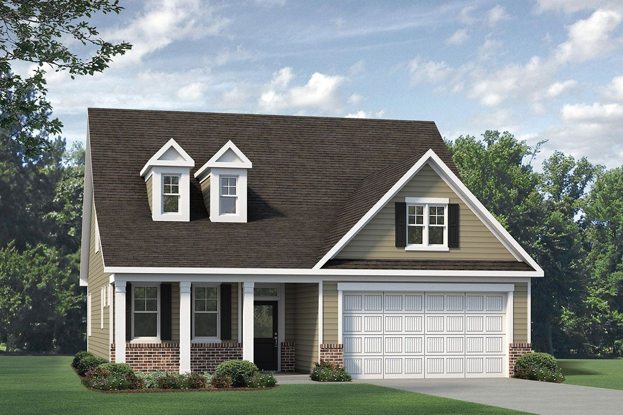 Exterior featured in the Winston 2020 Classic By McKee Homes in Fayetteville, NC