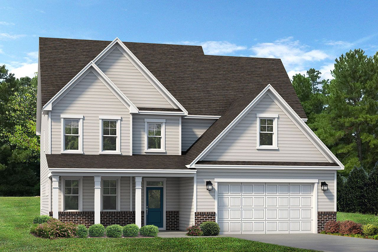 Exterior featured in the Clark 2020 Classic By McKee Homes in Pinehurst-Southern Pines, NC