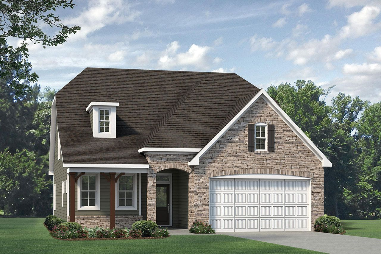 Exterior featured in the Winston 2020 European By McKee Homes in Wilmington, NC