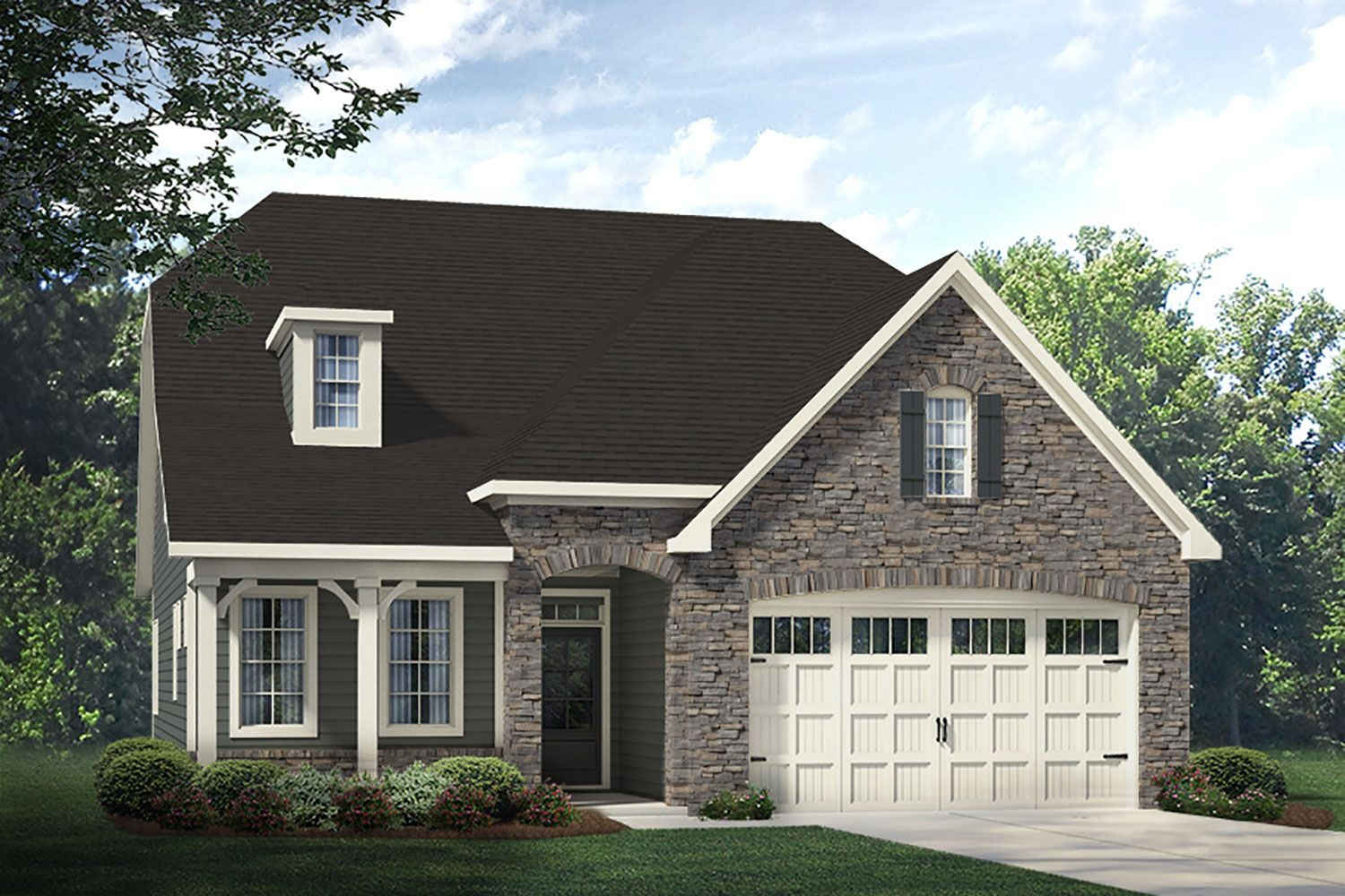 Exterior featured in the Winston European By McKee Homes in Fayetteville, NC