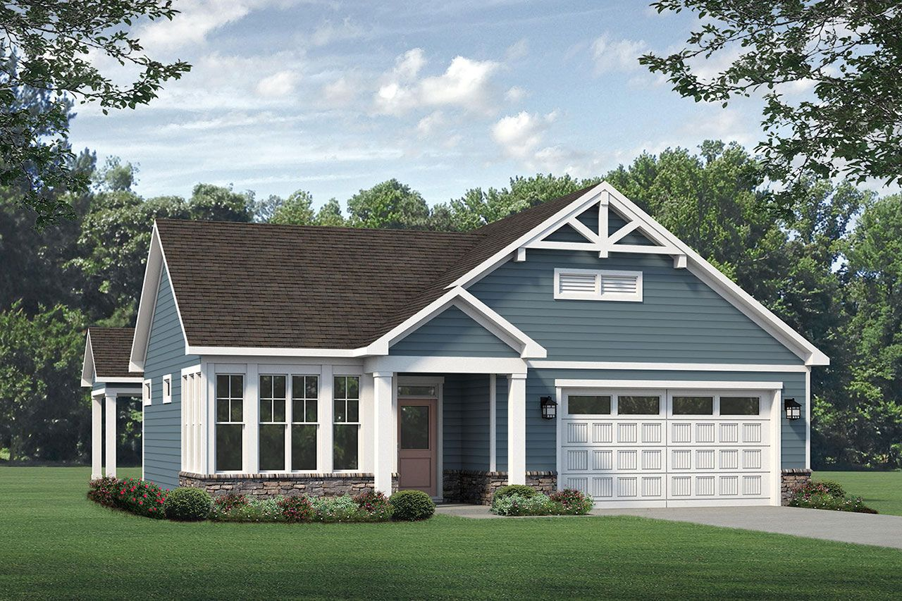 Exterior featured in the Palazzo 2020 Craftsman By McKee Homes in Fayetteville, NC