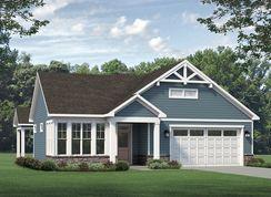 Palazzo 2020 Craftsman - The Courtyards At Mallory Retreat: Winnabow, North Carolina - McKee Homes