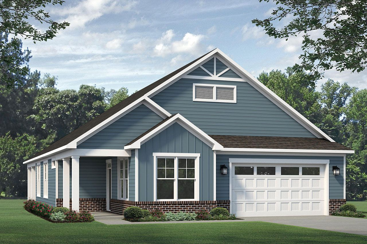 Exterior featured in the Verona 2020 Classic By McKee Homes in Fayetteville, NC