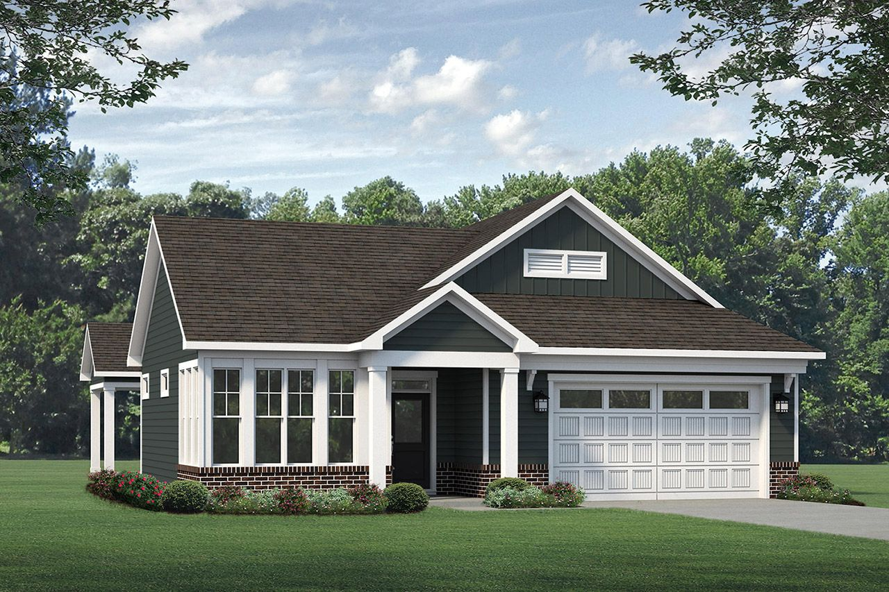 Exterior featured in the Palazzo 2020 Classic By McKee Homes in Fayetteville, NC