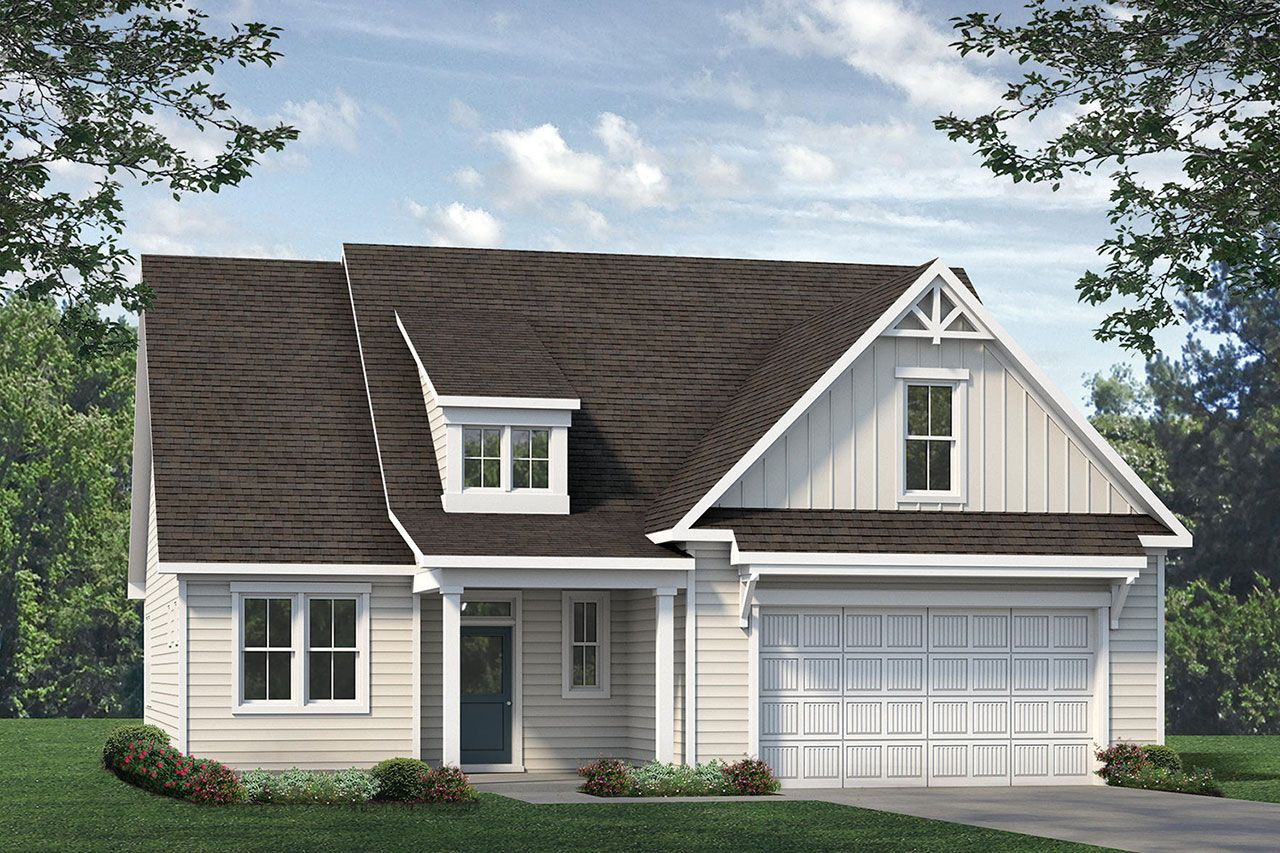Exterior featured in the Biltmore 2020 Coastal By McKee Homes in Wilmington, NC