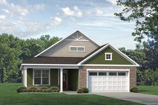 Salerno 2020 Craftsman - The Courtyards At Mallory Retreat: Winnabow, North Carolina - McKee Homes