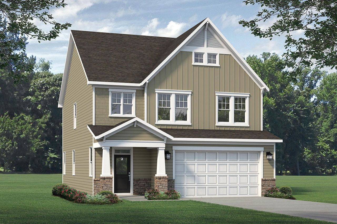 Exterior featured in the Sullivan 2020 Craftsman By McKee Homes in Wilmington, NC