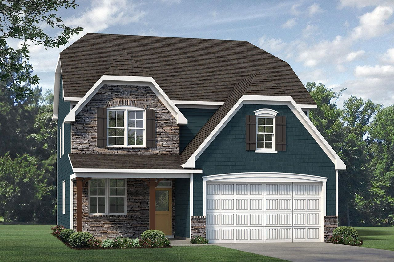 Exterior featured in the Finley 2020 European By McKee Homes in Fayetteville, NC